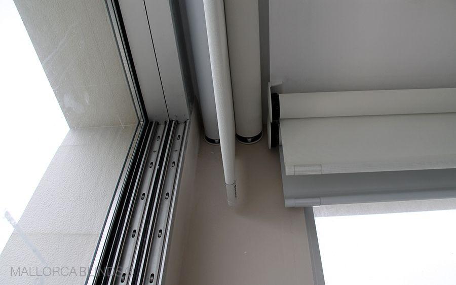 esta instalacin de enrollables bandalux motorizadas en cala blava te dar ideas para proteger tu casa