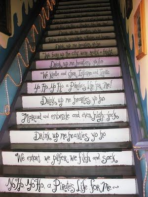 pirate stair risers