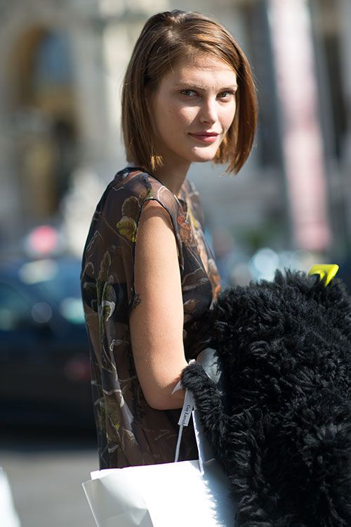 Street Style: Paris Fashion Week Spring 2014 - Catherine McNeil