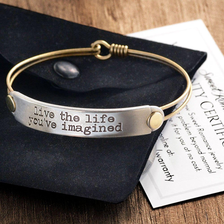 Bracelets Cuff Inspirational Stack Bracelets Inspiration Jewelry Stacking Bangles Motivational Quotes Message Bracelets C411ymvvfxv Bracelets Designe