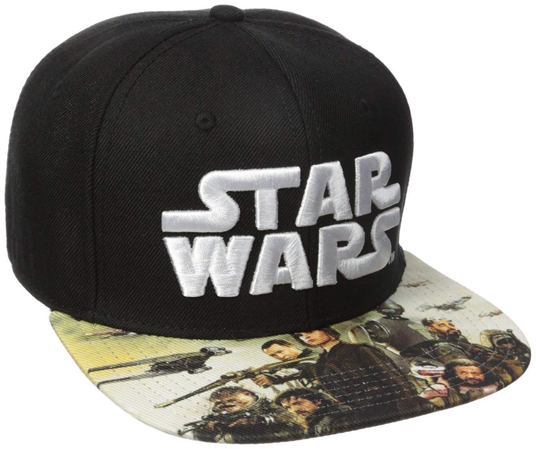 new york e855f e937e Bioworld Men s Star Wars Rogue One Sublimated Bill Snapback Cap