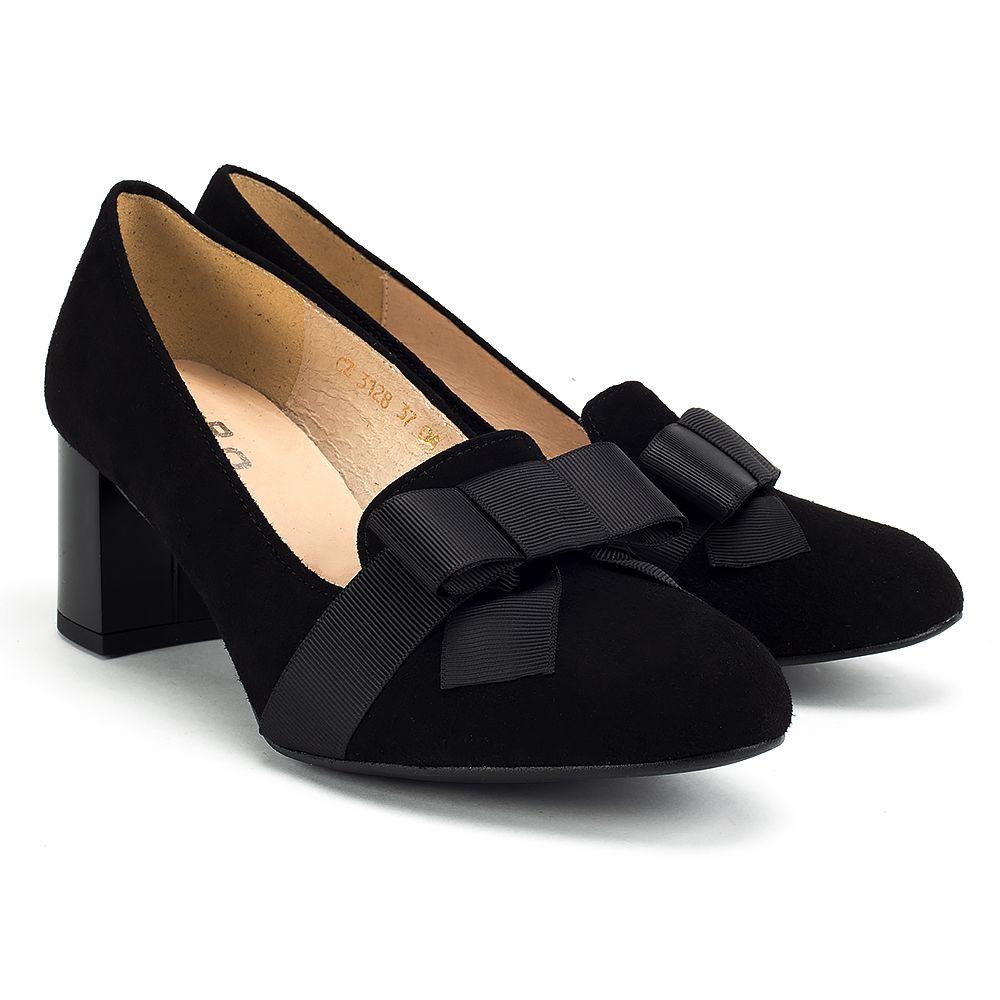 Mokasyny Filippo 3128 Czarny Zamsz Polbuty I Mokasyny Buty Damskie Filippo Pl Loafers Shoes Fashion