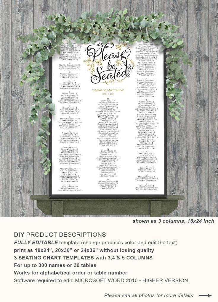 seating chart wedding, wedding seating chart template, wedding