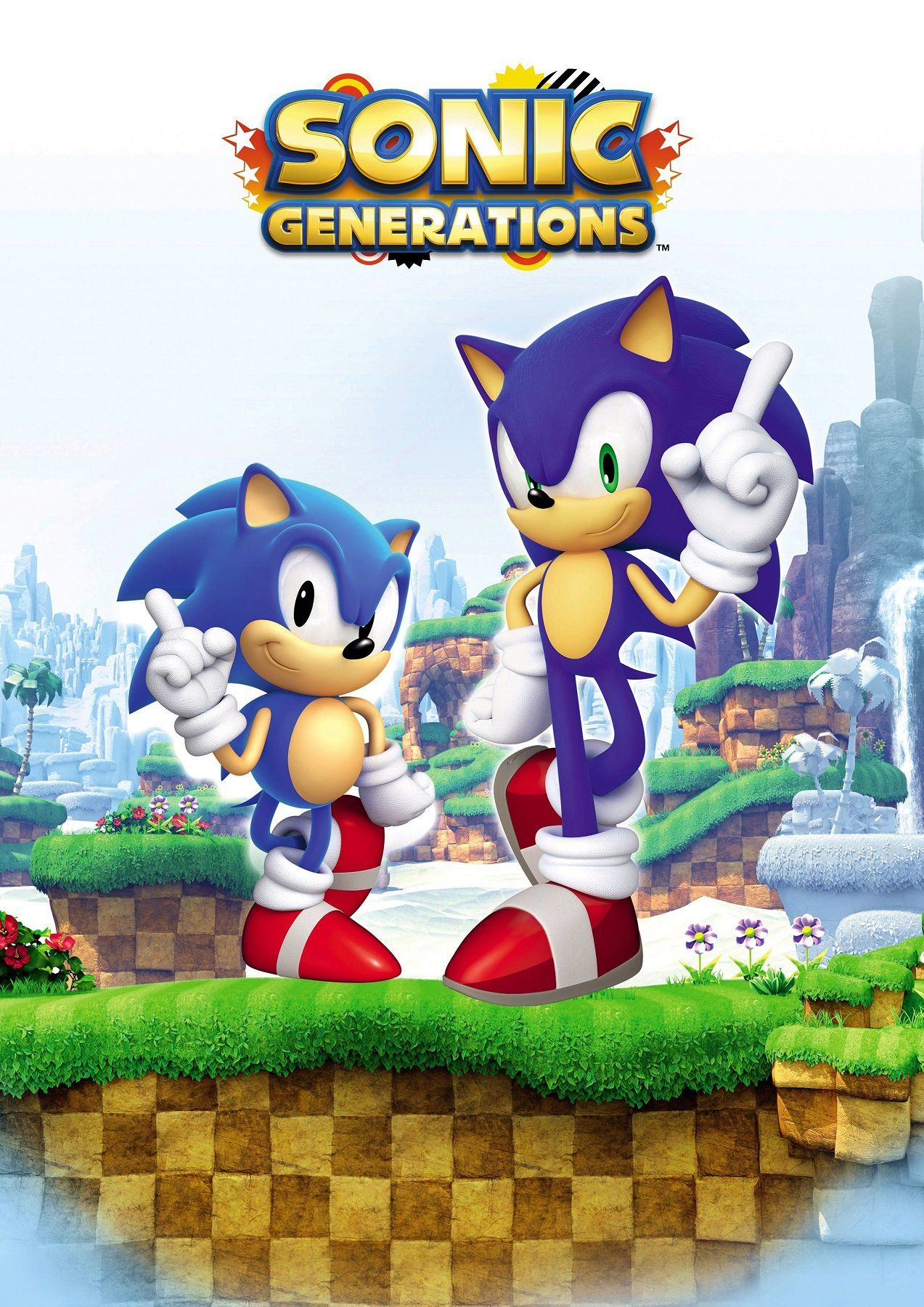Sonic Generations Poster (With images) Sonic generations