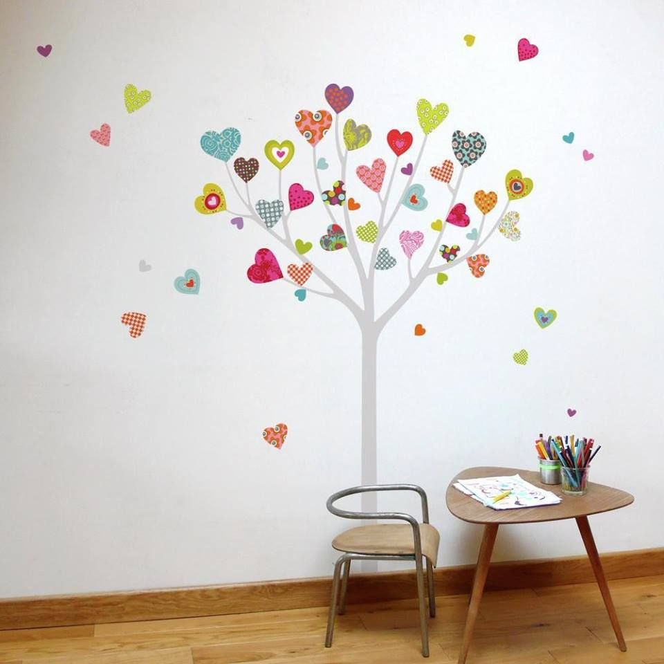 Árbol para decorar una pared | decoración | Pinterest | Mural ...