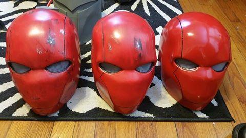 Red Hood Helmets