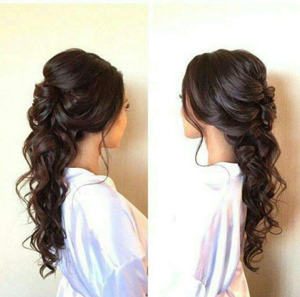 Pin by Brantlee Jones on Long Hair Styles | Pinterest | Prom, Prom ...