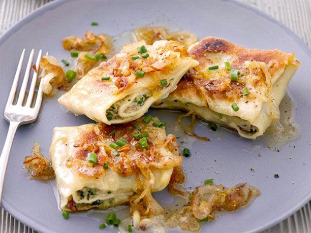 Zum Rezept für Maultaschen F o o d  E n t r e e s Pinterest - italienische küche rezepte