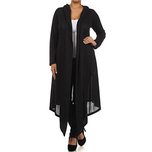(PLUS SIZE)Women's Sold Color Hooded Cardigan Knit (MADE IN U.S.A) GLJ TRADING http://www.amazon.com/dp/B00O857GS2/ref=cm_sw_r_pi_dp_oG5dvb0GXGF0B