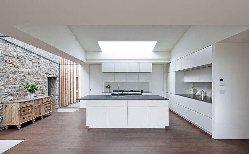 Die Modernen Seiten Eines Schottischen Farmhauses Cuisine Design Moderne Maison Grecque Cuisines Design