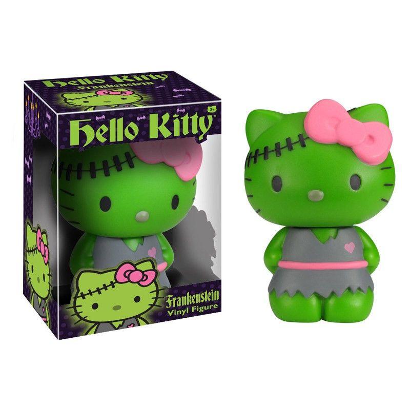 Hello Kitty Vinyl-Figur Frankenstein 15 cm  Hello Kitty - Hadesflamme - Merchandise - Onlineshop für alles was das (Fan) Herz begehrt!