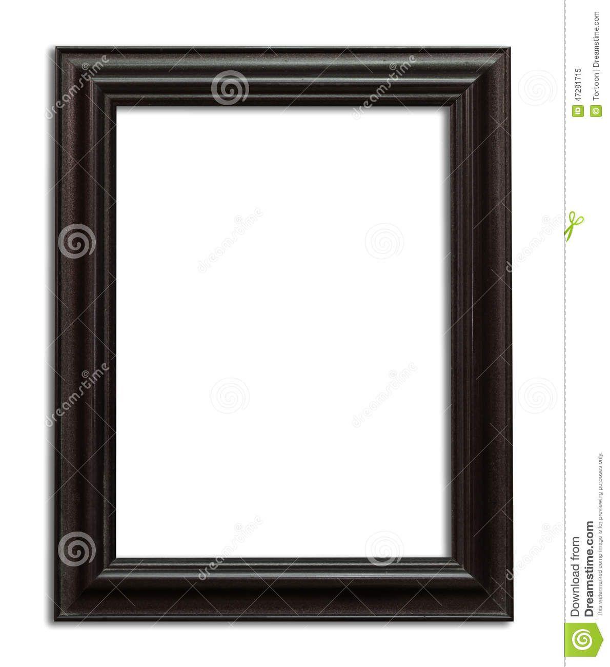 Foto de madera del marco con la trayectoria de recortes | CUADROS ...