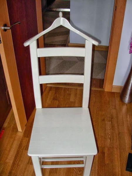Galan De Noche A Partir De Una Silla Decoración Diy Furniture