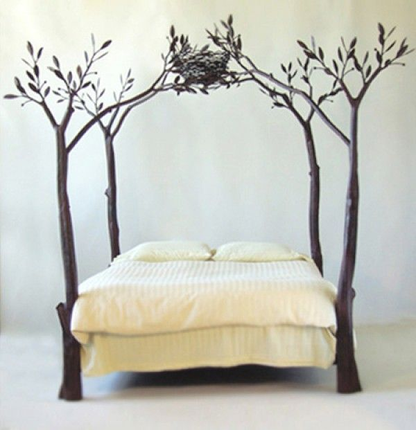 23 Amazing Tree Bed Frame Designs That Will Enchant You | Bed frame ...
