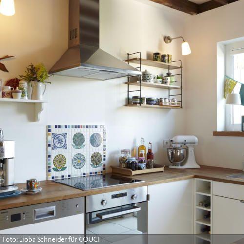 Ideen · küche ohne hängeschränke