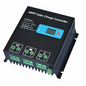 MPPT Solar Controller Four stage MPPT Solar Controller Four stage charging current 20A 30A input power 260W/12V 520W/24V 400W/12V 800W/24V input voltage <150V IP32 CE
