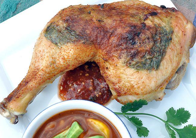 Garlicky Cilantro Chicken