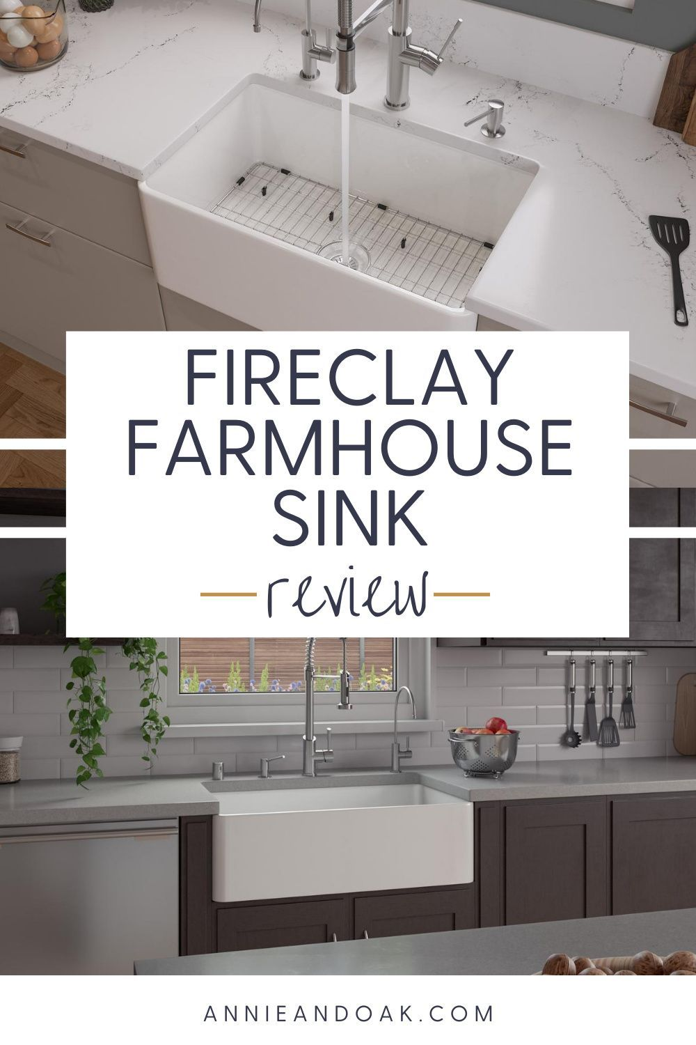 Fireclay farmhouse sink review Truth you've been waiting