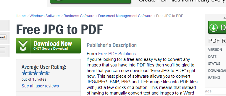 Top Five Pdf Free Download Cnet - Circus