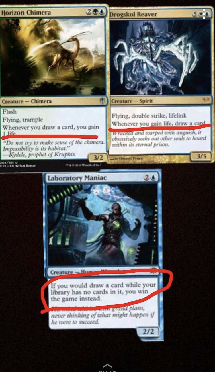 Magic The Gathering Combo Magic The Gathering Cards Magic The