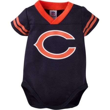 brand new ccf3b c1e05 NFL Chicago Bears Baby Boys Mesh Dazzle Bodysuit | Products ...