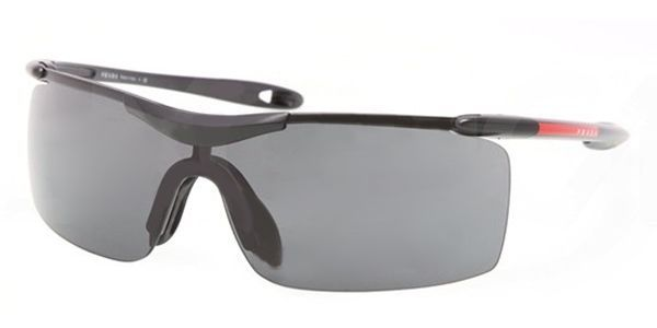 Linea 1a1 Unisex Rossa Sps Rimless Prada Sunglasses Black 53m 1bo tshrdBCQx