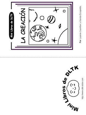 Los niños y la Biblia: Mini Libro Para Colorear \