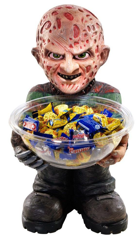 Freddy Krueger Candy Bowl Holder Freddy krueger, Candy bowl and Bowls