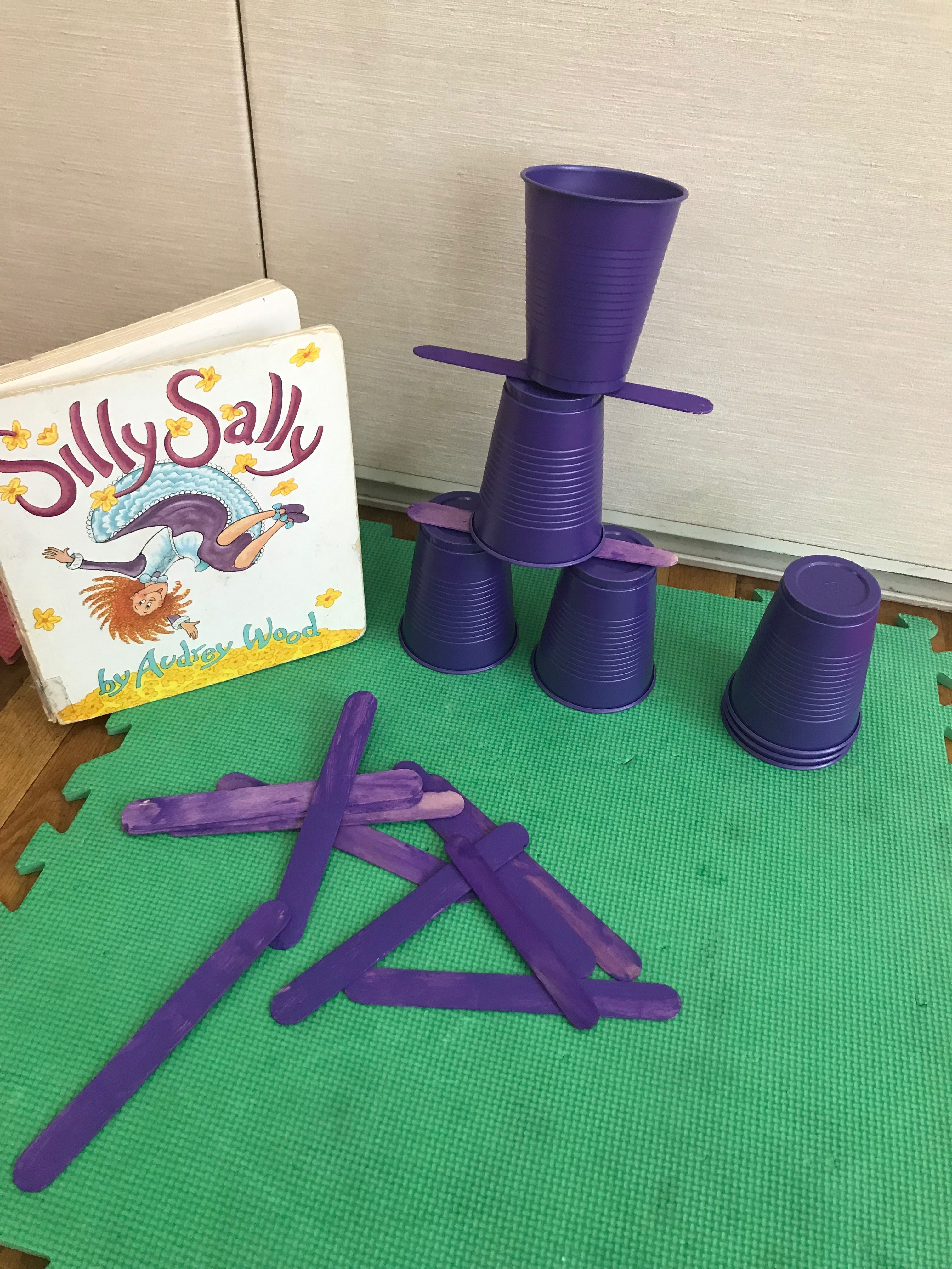 Silly Sally Stem Balancing Activity