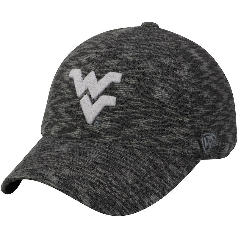 af858123c5e West Virginia Mountaineers Top of the World Women s Lily Adjustable Hat -  Heathered Gray