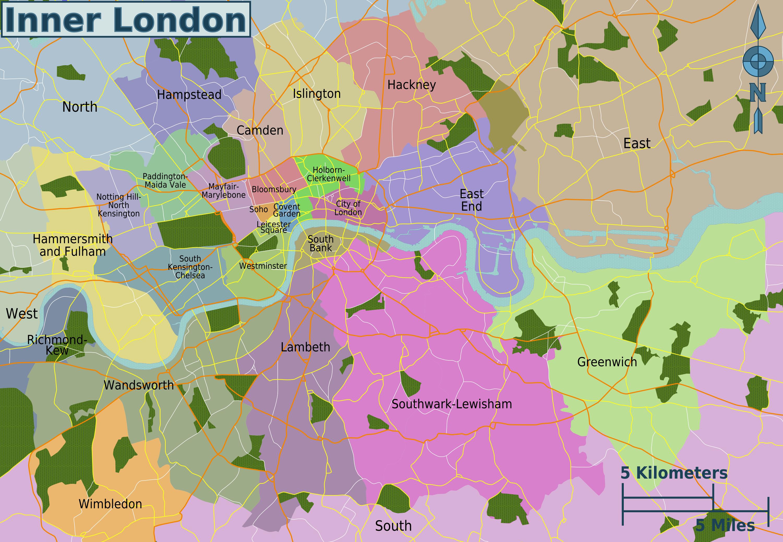 Greater London Map Pdf.Pin By Rachel Barber On Do It Myself Art London Neighborhoods