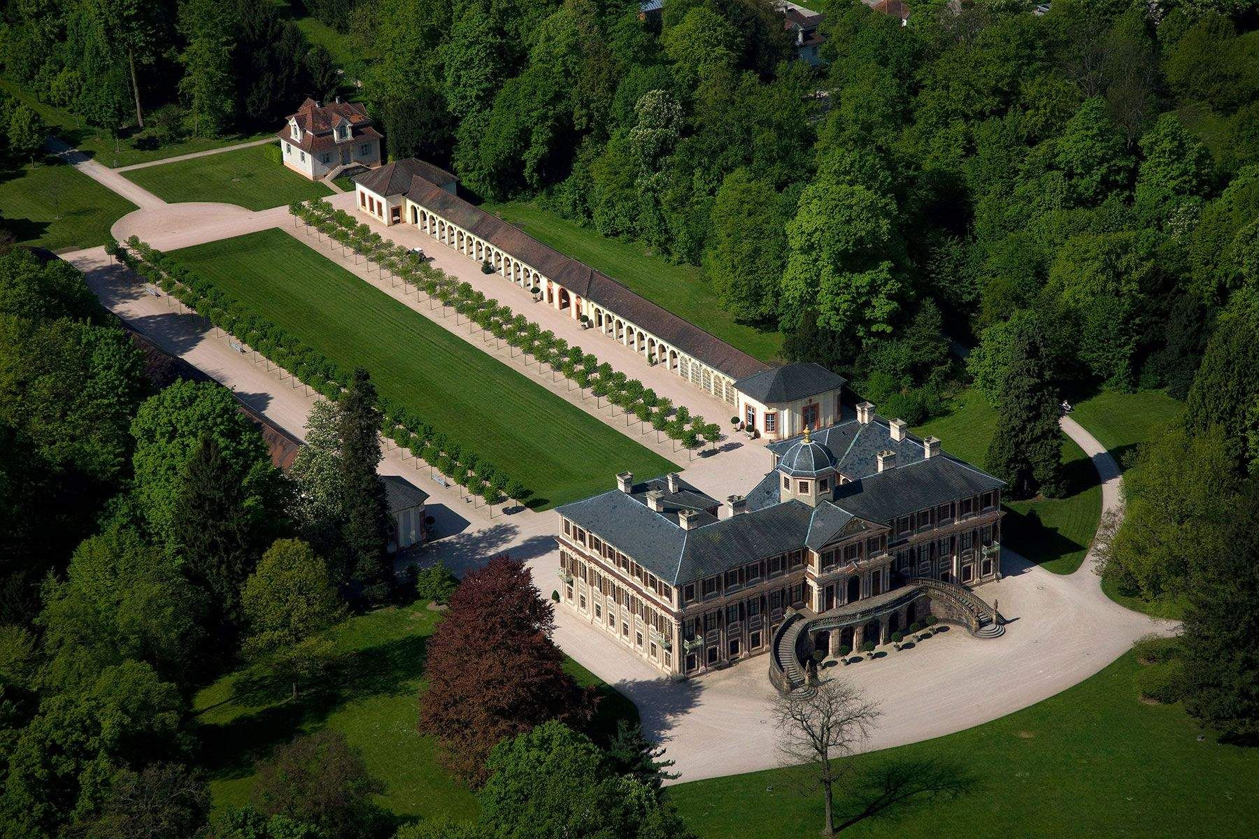 Rastatt Favorite Palace French Castles Opulent Interiors Germany Castles
