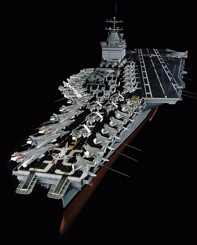 In 1982, the Museum acquired this 11-foot model of the ...