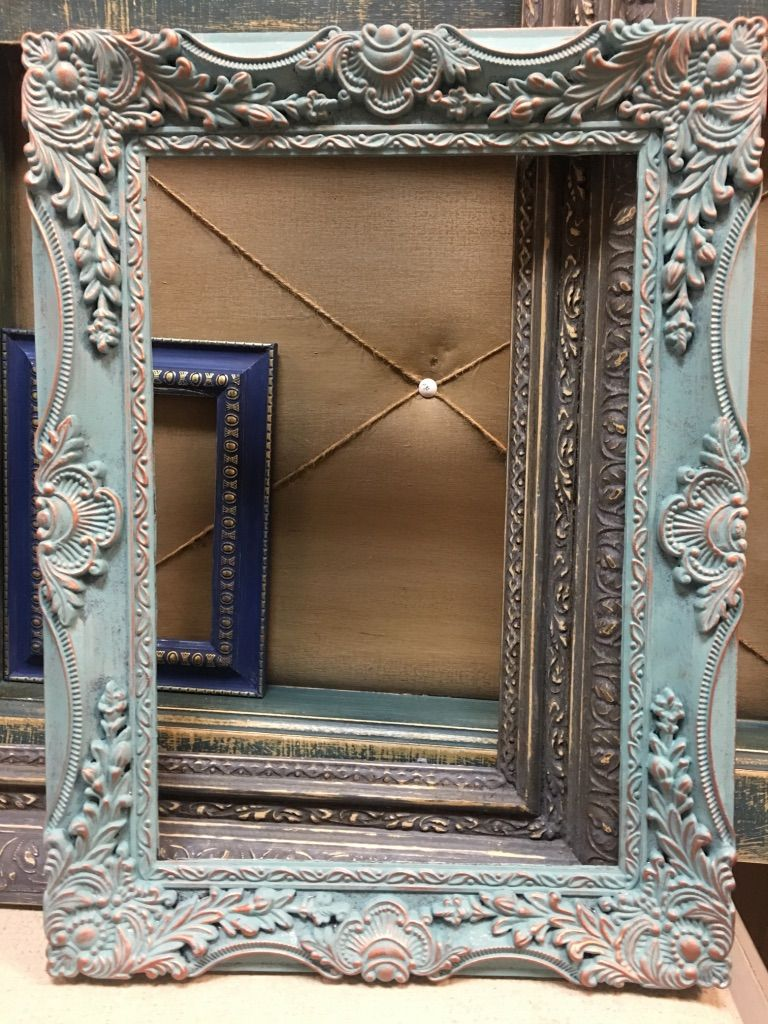 REKINDLE your tired old frames with ANNIE SLOAN CHALK PAINT - DUCK ...