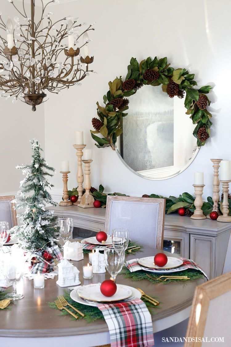 Holiday Entertaining Decor | Christmas Village Table Setting and Holiday Entertaining Ideas |... #ferientisch This 'exactly how to throw a Christmas event' overview takes the assumption work out of every little thing yuletide and also shares suggestions to rem... #ferientisch