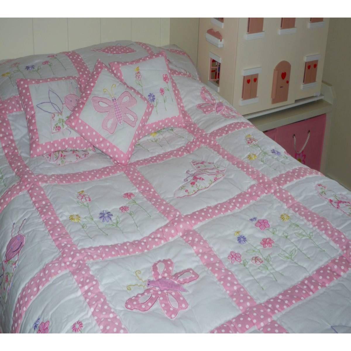 patchwork quilts | ... › Bedding › Bedspreads › Country Garden Girls ...