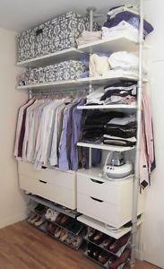 Ikea stolmen wardrobe wefollowpics room storage pinterest cabina armadio armadio e - Cabine armadio ikea stolmen ...