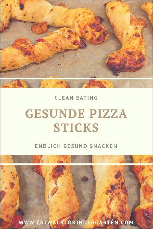 Gesunde Clean Eating geeignete Pizza Sticks - perfekt für jede Party oder den Kindergeburtstag! Schmeckt großen und kleinen Kindern!