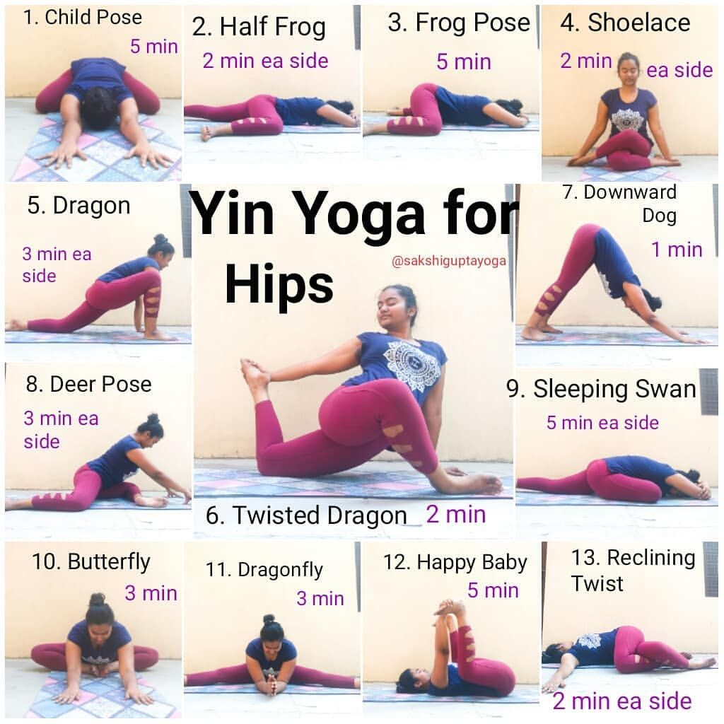 Yin Yoga Sequence For December