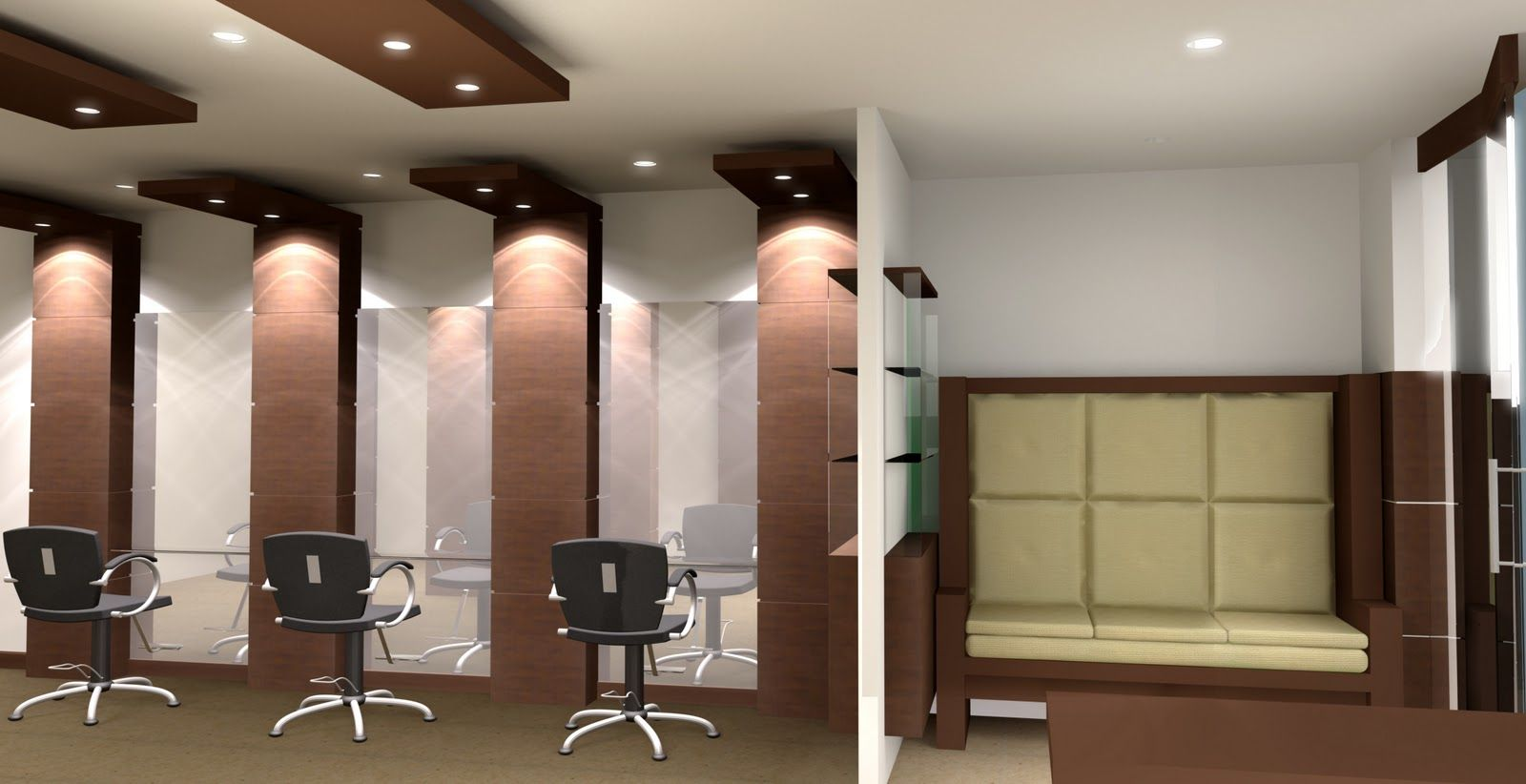 Http Chennaiinteriordecors Com Elegant Parlour Interior Salon Interior Design Beauty Salon Interior Salon Interior