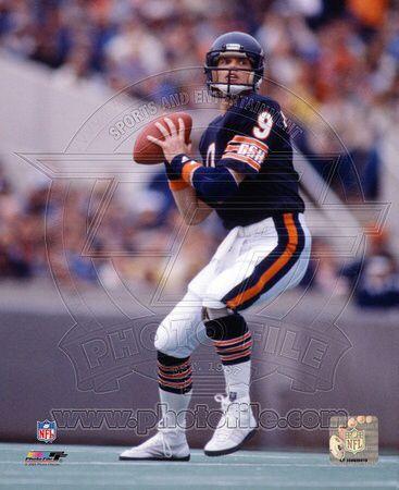 Jim Mcmahon Chicago Bears Football Jim Mcmahon Chicago Bears