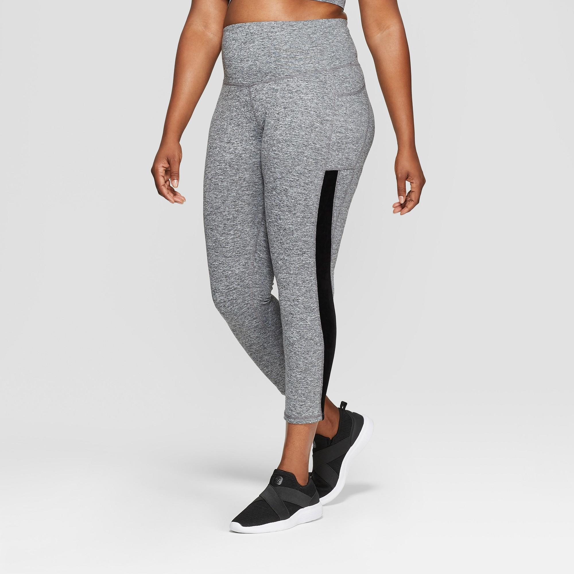 929220ea95b21 Women's Plus Size Studio High-Waisted Leggings - C9 Champion Ebony Heather  1X