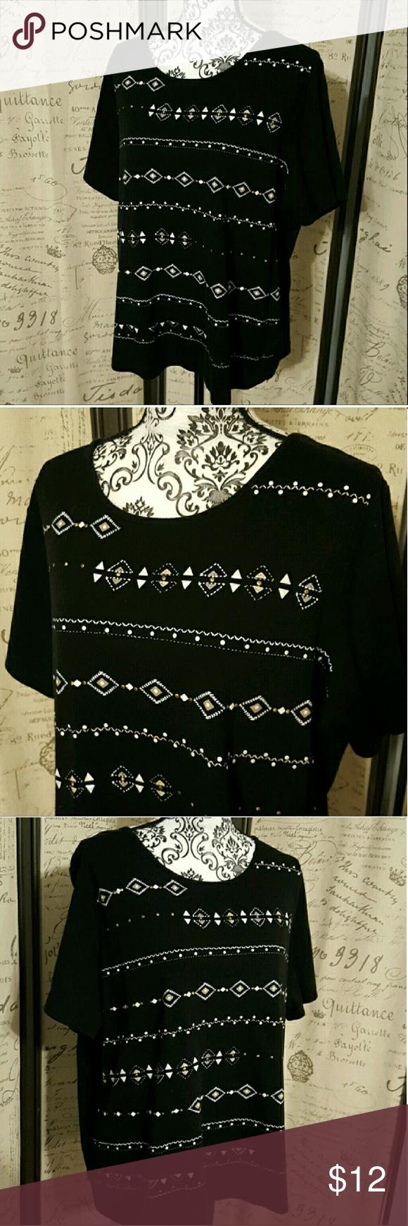 Alfred Dunner shirt size 1X Alfred Dunner shirt size 1X Alfred Dunner Tops Blouses