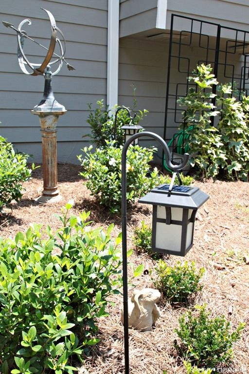 Outdoor Lantern Solar Lighting  Creative Ideas Bloggers