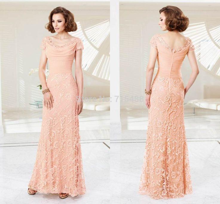 Awesome Wedding Dresses Evening Gowns Short Sleeve Vintage Ebay ...