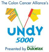 The Undy 5000 - 5K run or Colon Cancer Awareness.    My goal this year: to finish.    My results: 30 Minutes.    My goal next year: 25 minutes or less.