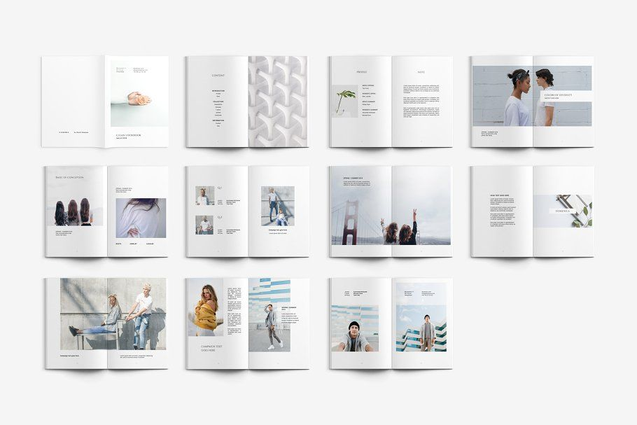clean lookbook lookbook clean templates magazine backgrounds for