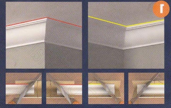 deckenleisten auf gehrung schneiden ohne gehrungss ge gehrungslade f r hohlkehlleisten. Black Bedroom Furniture Sets. Home Design Ideas