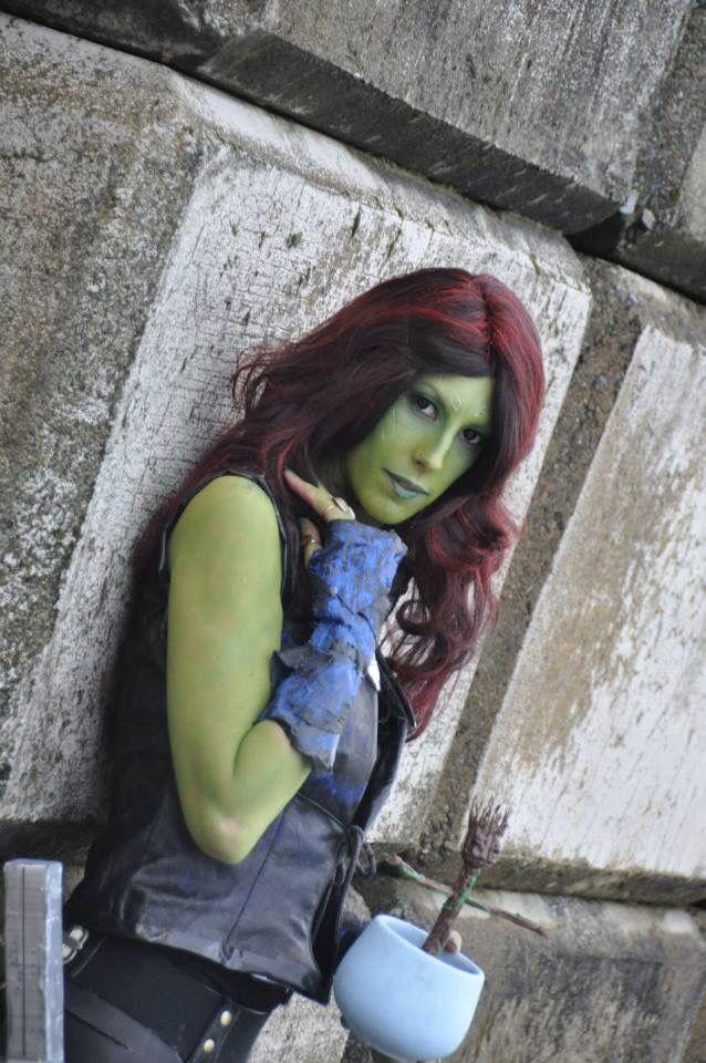 Gamora guardian of the Galaxy handmade crafting costume