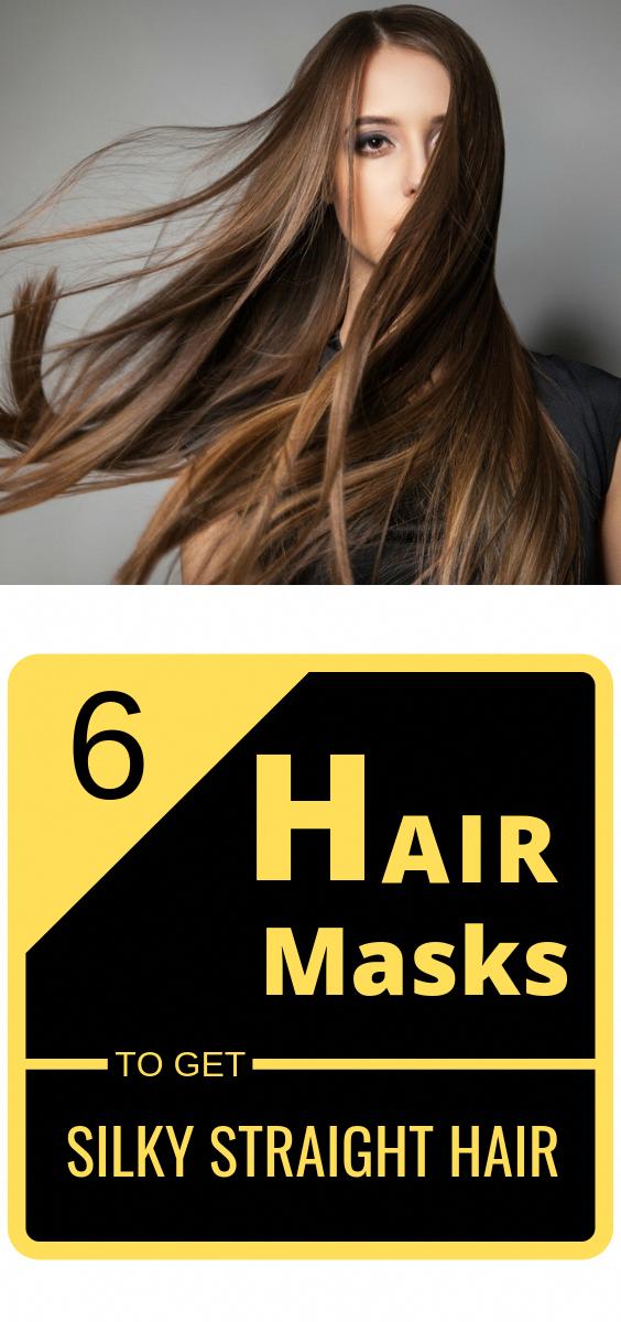 Straighten Wavy Hair Naturally Haircut Ideas For Straight Hair Easy Hairstyles For Straightened Hair 20190215 Straight Hairstyles Silky Hair Hair Mask